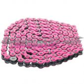 Chaine Watts renforcée 140 maillons rose fluo