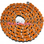 Chaine Conti renforcée 140 maillons orange fluo