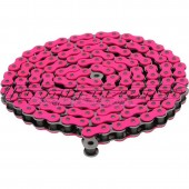 Chaine Conti renforcée rose 140 maillons rose fluo