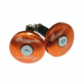Embouts de guidon VB plat XL 12mm orange