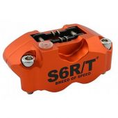 Etrier de frein radial Stage6 R/T 4 pistons orange