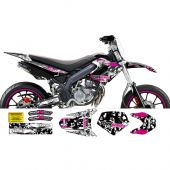 Kit déco GXS PornSeries Derbi DRD Racing 04-09 rose