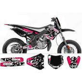 Kit déco GXS PornSeries Derbi X-Race & X-Treme 03-04 rose