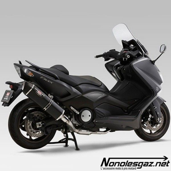 ligne chappement compl te yoshimura hepta force yamaha tmax 530 metal magic carbone nonolesgaz. Black Bedroom Furniture Sets. Home Design Ideas