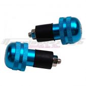 Embouts de guidon Street Bike Ø18mm bleu