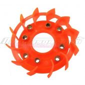 Turbine de refroidissement Motoforce oversize GY6 orange