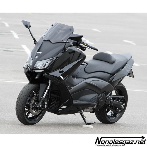 bulle bcd vx yamaha tmax 530 noir mat nonolesgaz. Black Bedroom Furniture Sets. Home Design Ideas