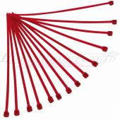 Colliers rilsan Racetech 3.6x200mm x100 rouge