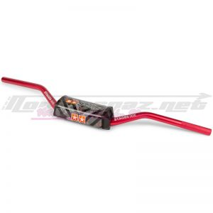 Guidon Stage6 cross Ø28.6mm rouge