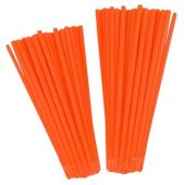 Couvres rayons NLG First orange fluo